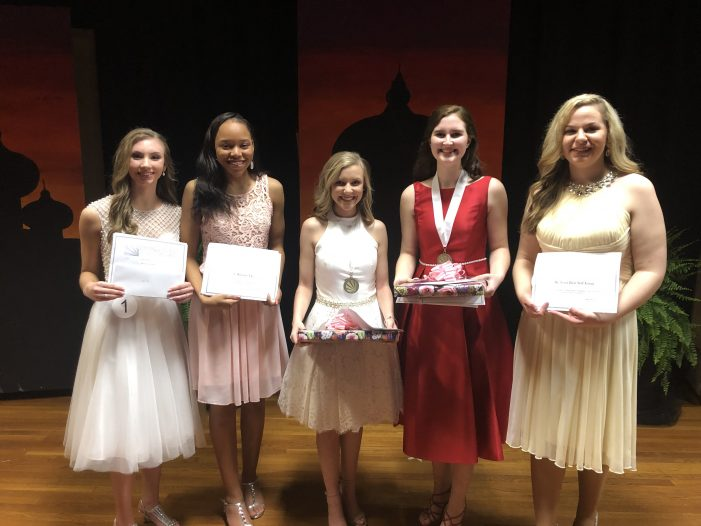 Winners in DYW Event, February 23