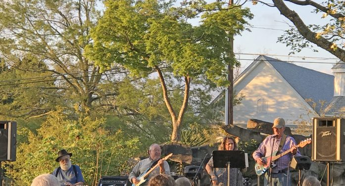 Concert in the Park in Johnston