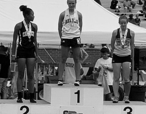 Maggie Massey Wins 400m Hurdles State Championship