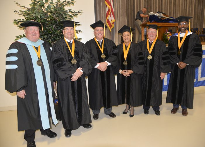 Piedmont Tech Awards Presidential Medallions
