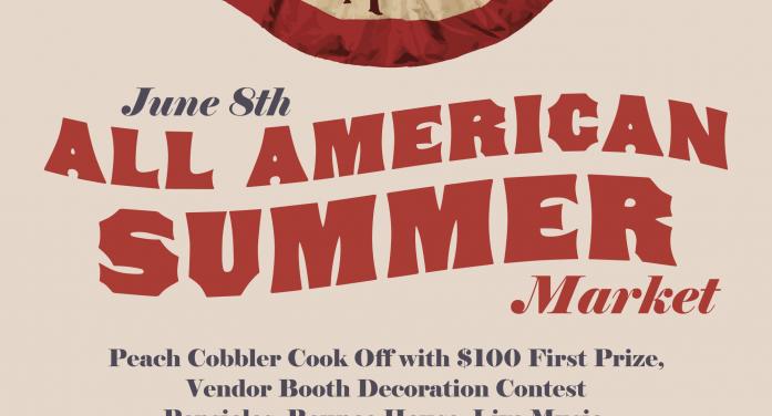 All American Summer Market on Saturday