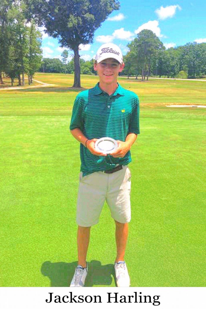 JACKSON HARLING WINS IN PRESTIGIOUS JUNIOR TOURNAMENT HOSTED BY PINE RIDGE!