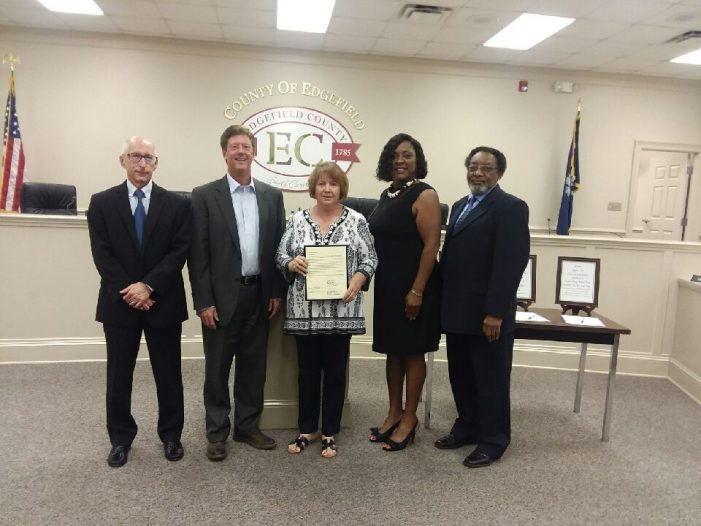 Council Recognizes Judge Brenda B. Carpenter