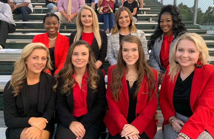Fox Creek High School Homecoming Court