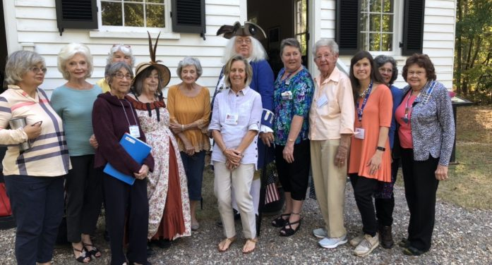 Old 96 District Chapter DAR Hears Lecture on Benjamin Franklin