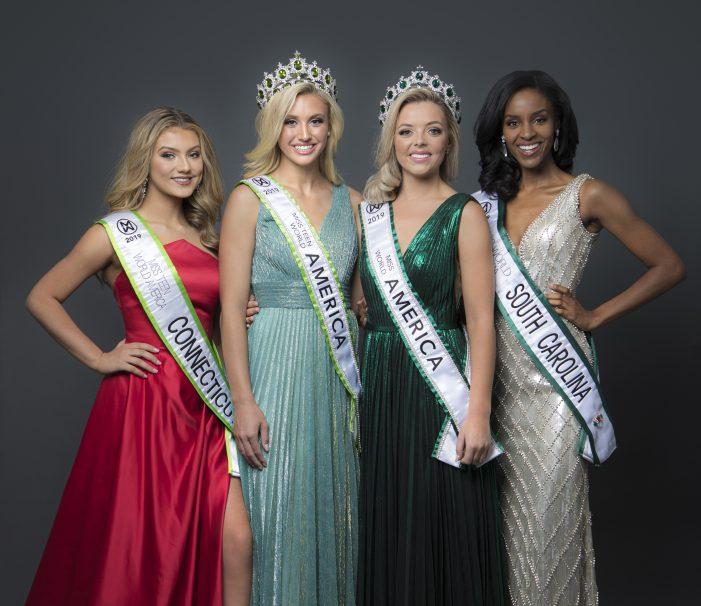 """Megan Gordon, 1st Runner up in """"Miss World America"""""""