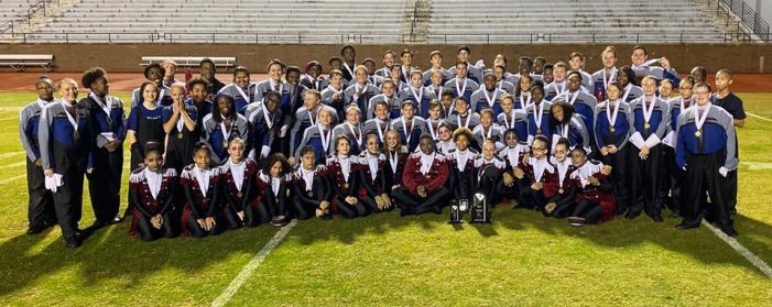 Rebel Regiment Place Third in State