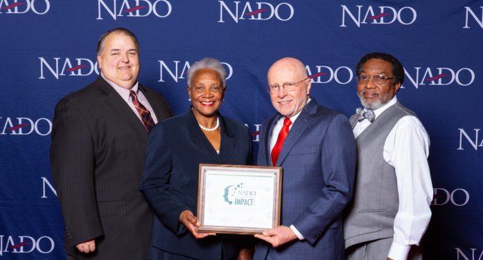 Upper Savannah Council of Governments Receives National Association of Development Organizations 2019 Impact Award