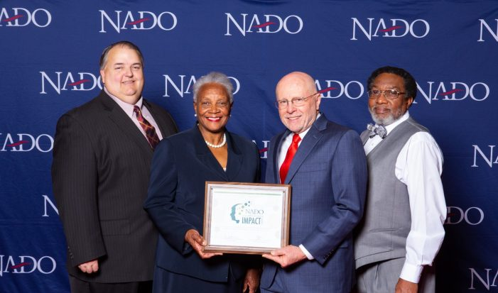 Upper Savannah Council of Governments Receives National Association of Development Organizations 2019 Impact Award