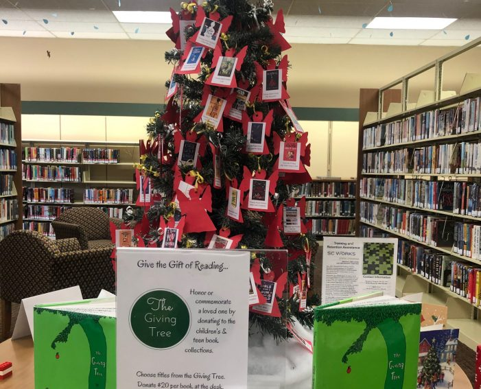 Don't Forget the Library Angel Tree