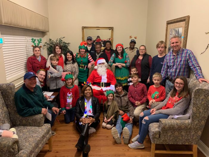 Aiken Electric Spreads Christmas Cheer