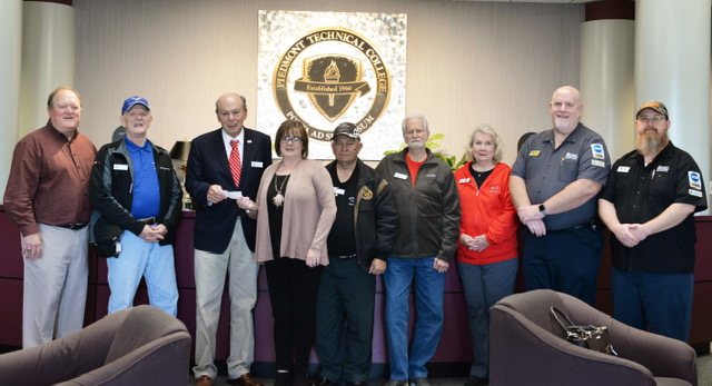 Greenwood Corvette Club Donates $500 to PTC Foundation for Scholarships