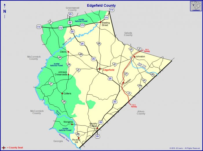 North Augusta Annexing Property in Edgefield County