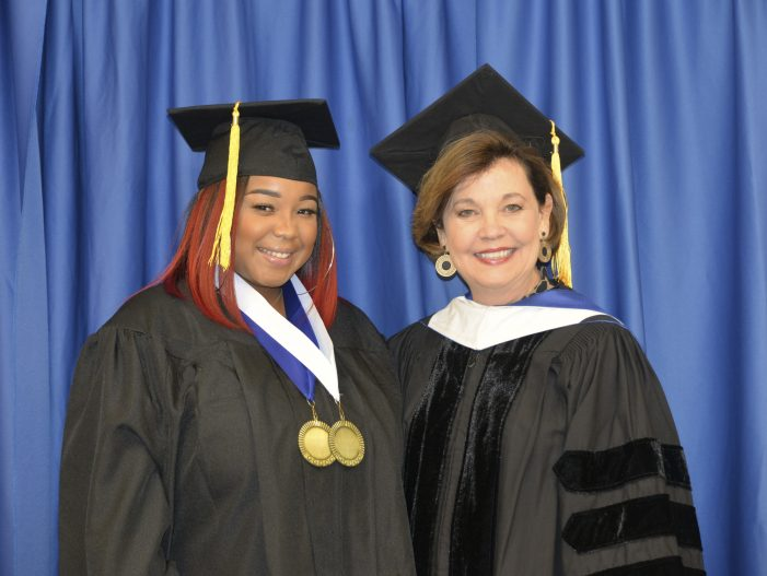 Edgefield Student Receives Award for Academic Achievement at PTC Graduation