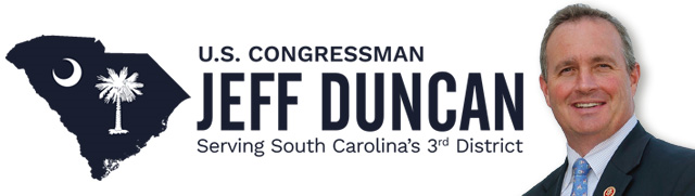 News from Representative Duncan