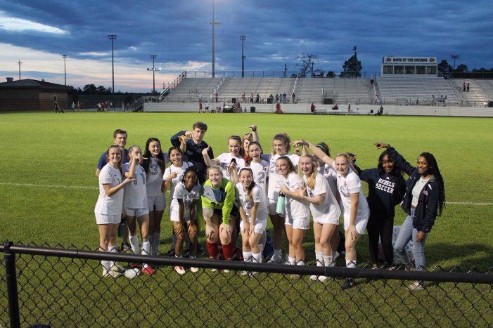 Strom Thurmond High School Lady Rebels Soccer