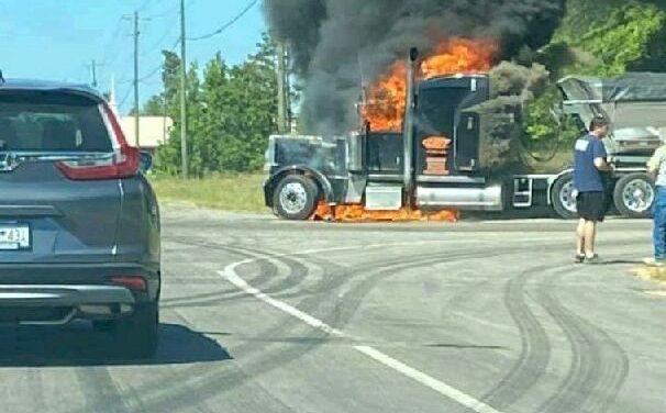 Fiery Crash on Woodlawn Road