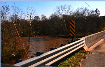 Stevens Creek Temporarily Lowered