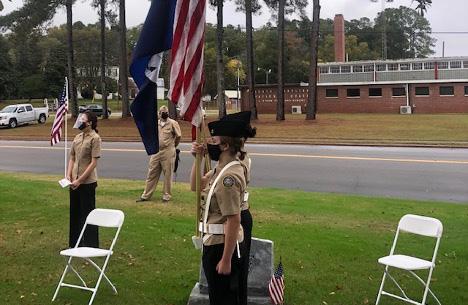 Veterans Day Celebrated at Veterans Park
