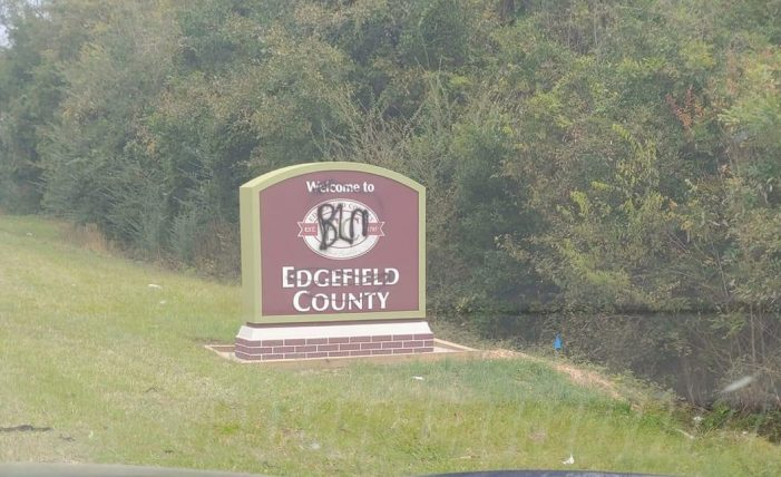 Signs throughout County Vandalized – $500 Reward Offered