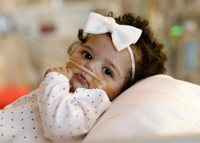 CaliGrace Enlow of Johnston Gets a New Heart