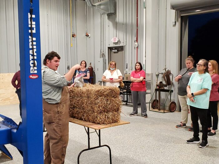 Edgefield County Young Farmer Association Hosted a Straw Bale Gardening Workshop