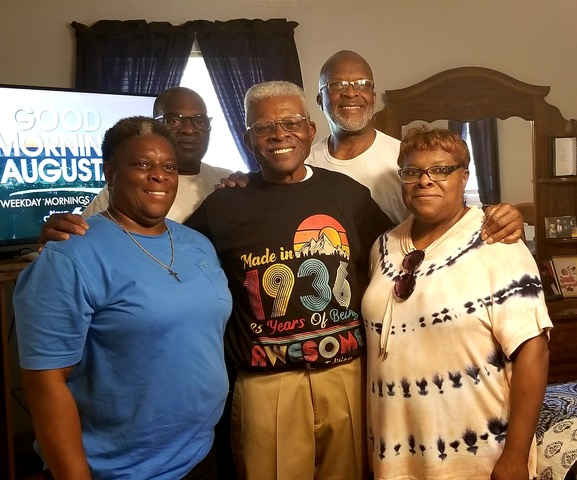 """Mr. Willie B. Thomas- """"85 Years of Being Awesome!"""""""