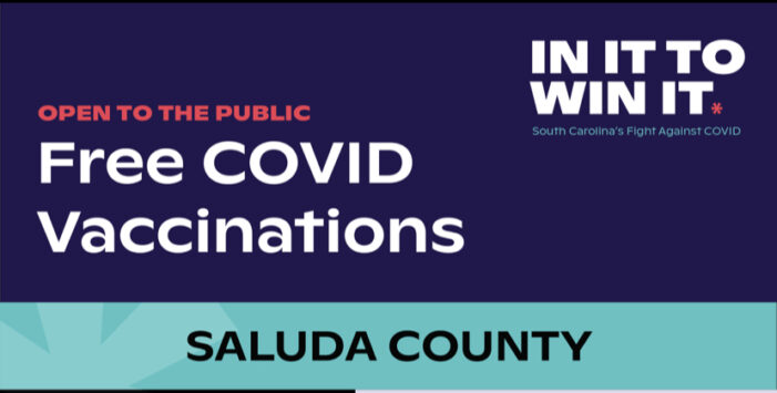 WE'RE IN IT TO WIN IT, SALUDA COUNTY
